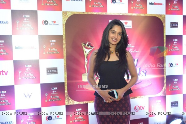 Dipika Kakar at 14th Indian Telly Awards Nomination Ceremony