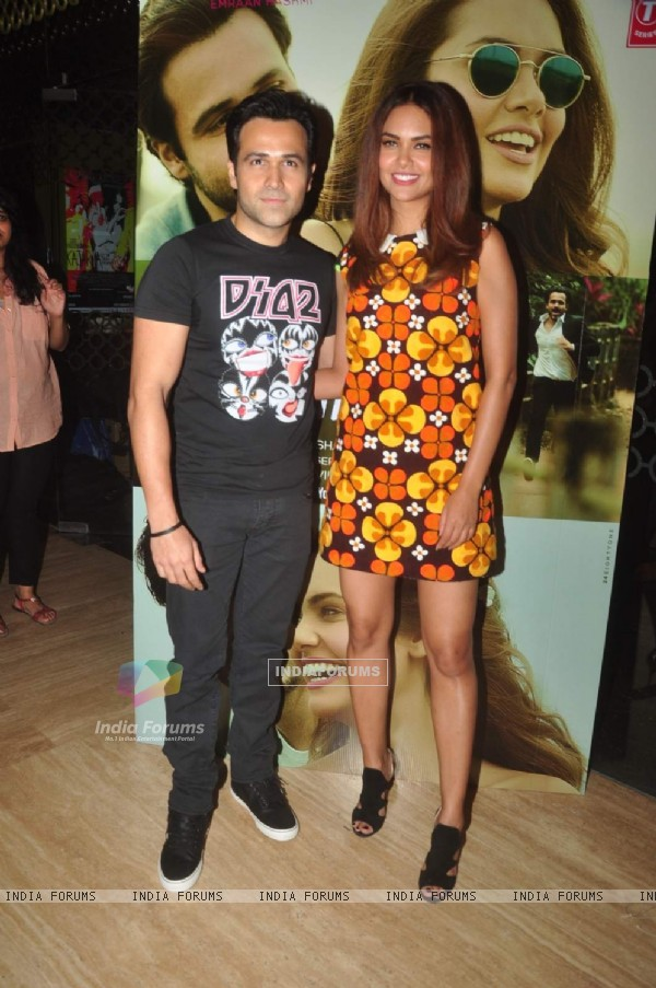 Emraan Hashmi and Esha Gupta at Launch of 'Main Rahoon Ya Na Rahoon' Song