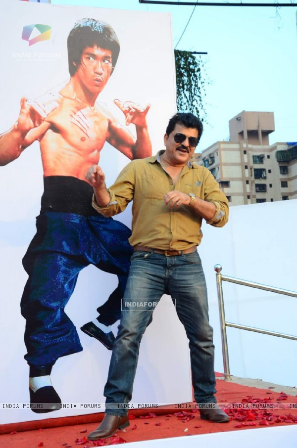 Rajesh Khattar at Annual Bruce Lee Celebrations