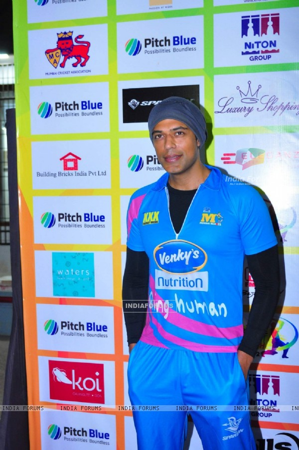 Gaurav Khanna at Mumbai Heroes Match