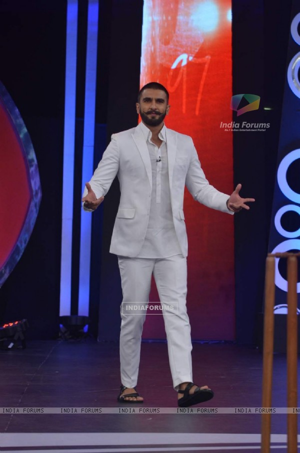 Ranveer Singh at NDTV Support 'My School Telethon' Event