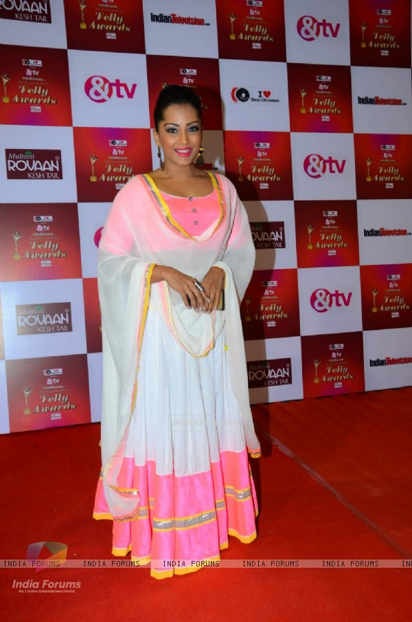 Meghna Naidu at Indian Telly Awards