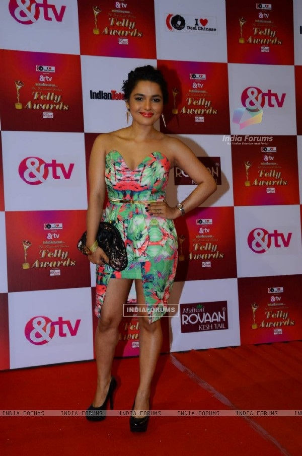 Chitrashi Rawat at Indian Telly Awards