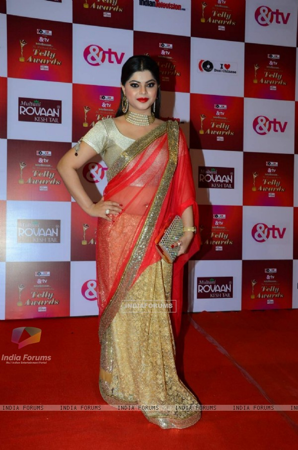 Sneha Wagh at Indian Telly Awards