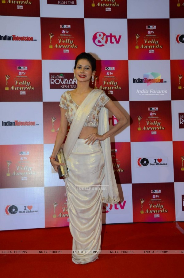 Aneri Vajani at Indian Telly Awards