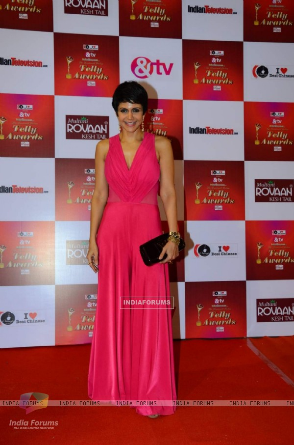 Mandira Bedi at Indian Telly Awards