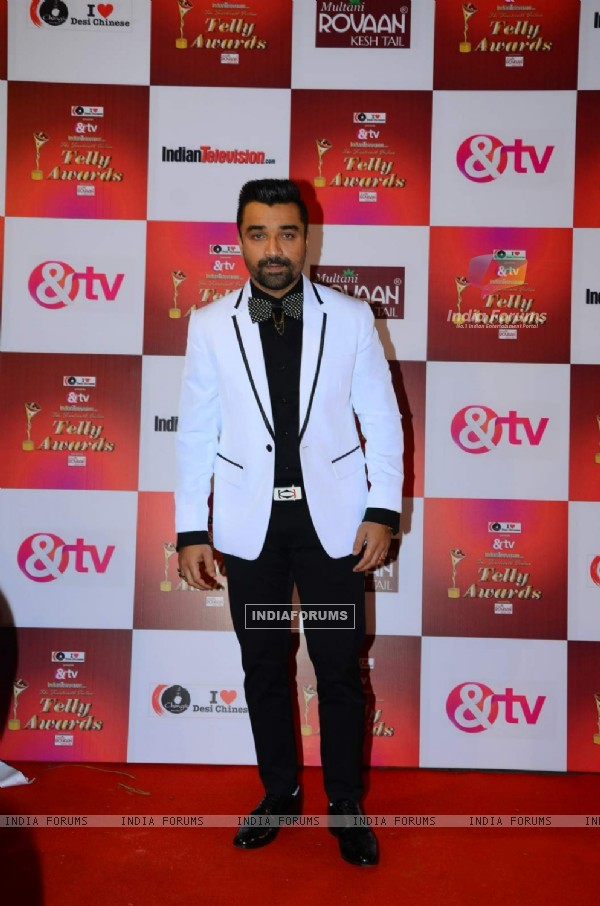 Ajaz Khan at Indian Telly Awards
