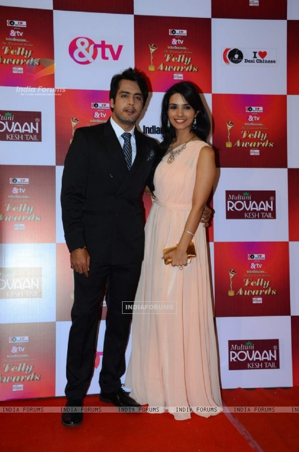 Gaurav Bajaj at Indian Telly Awards