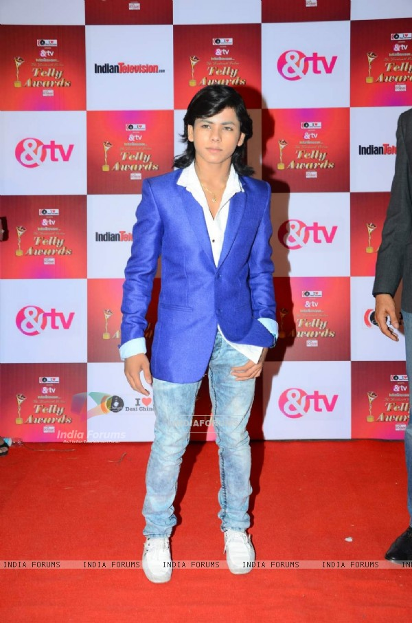 Siddharth Nigam at Indian Telly Awards