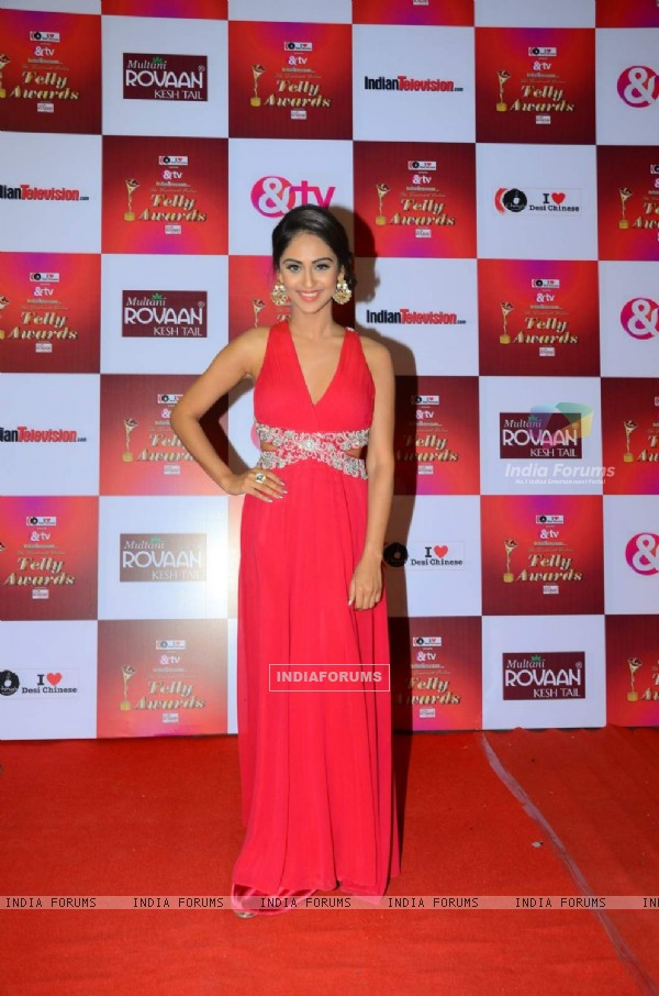 Krystle Dsouza at Indian Telly Awards