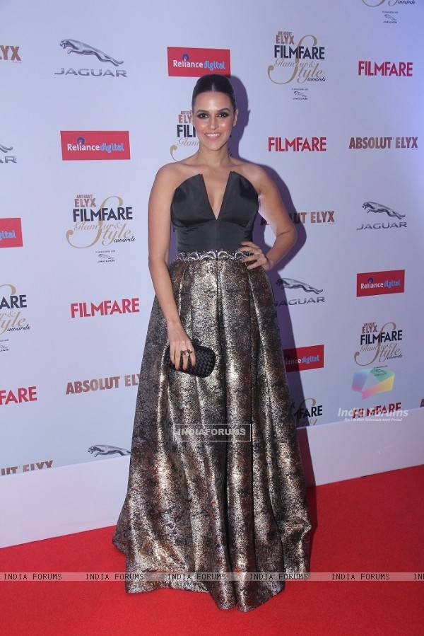 Neha Dhupia at Filmfare Glamour and Style Awards