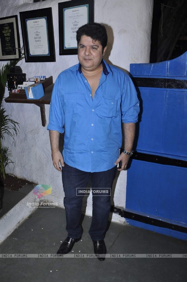 Sajid Khan at Success Bash of 'Tamasha'