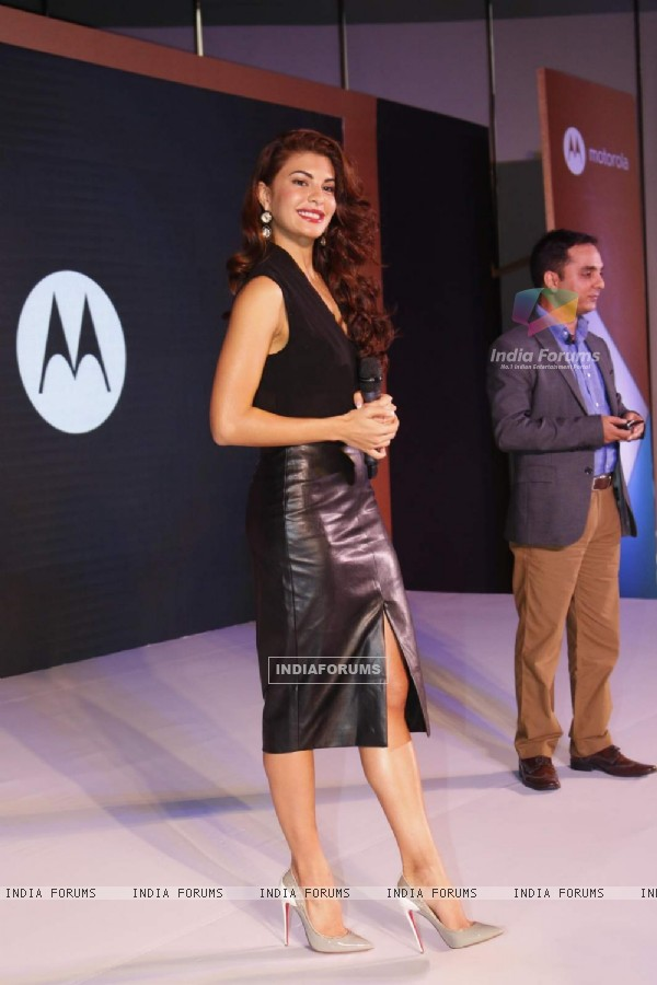 Jacqueline Fernandes at Launch of Moto 360 Watch