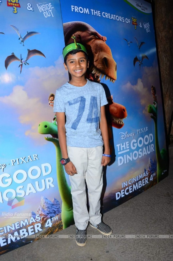 Naman Jain at Special Screening of 'The Good Dinosaur'