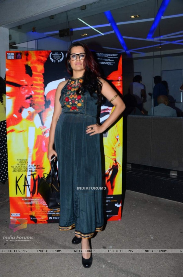 Sona Mohapatra at Special Screening of Kajarya