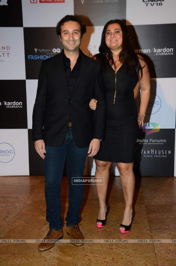 Divya Palat and Aditya Hitkari at GQ Fashion Night
