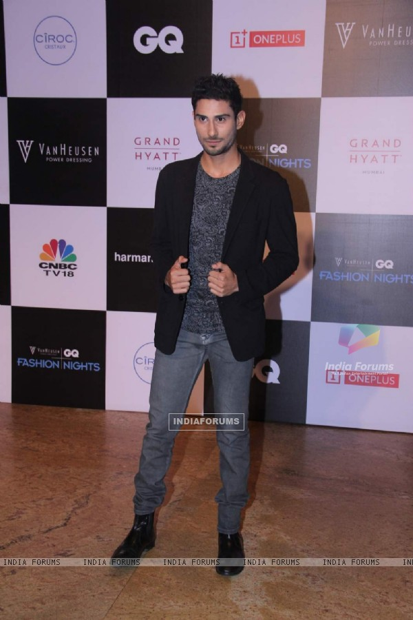 Prateik Babbar at GQ Fashion Night