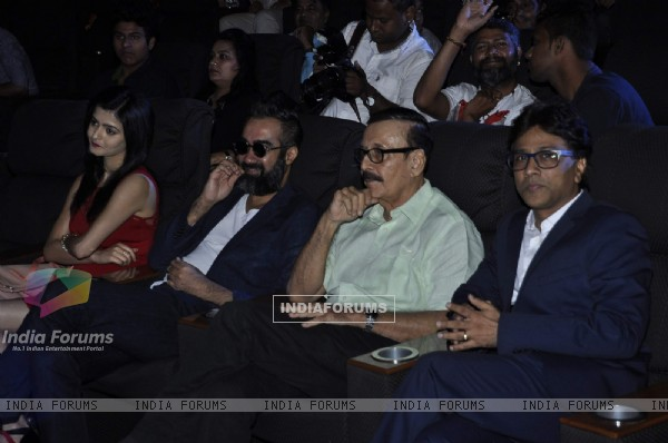 Ranvir Shorey and Parikshit at Launch of 'Blue Mountains Film'