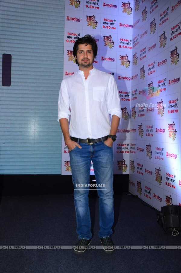 Rohit Bharadwaj at Launch of Zindagi - New Show 'Aadhe Adhoore'