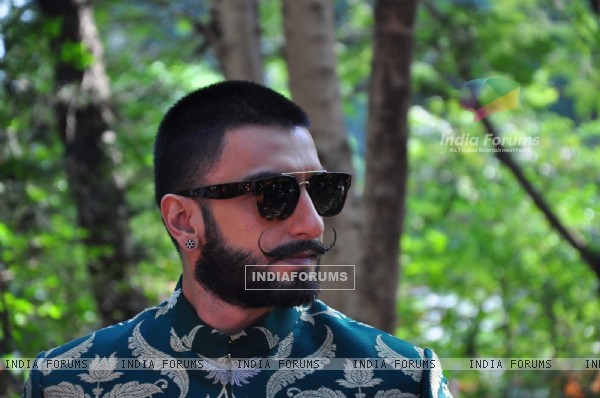 Ranveer Singh at Promotions of 'Bajirao Mastani' on 'Swaragini'