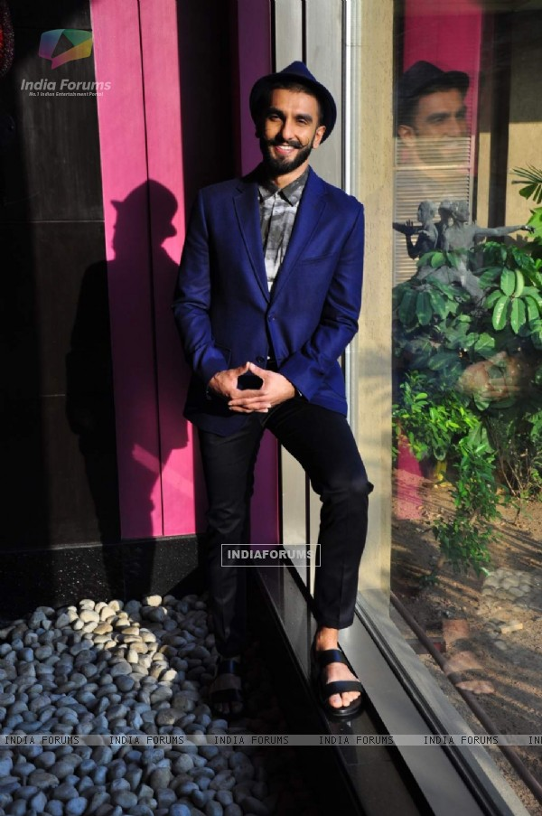Ranveer Singh at Promotional Photoshoot for Bajirao Mastani