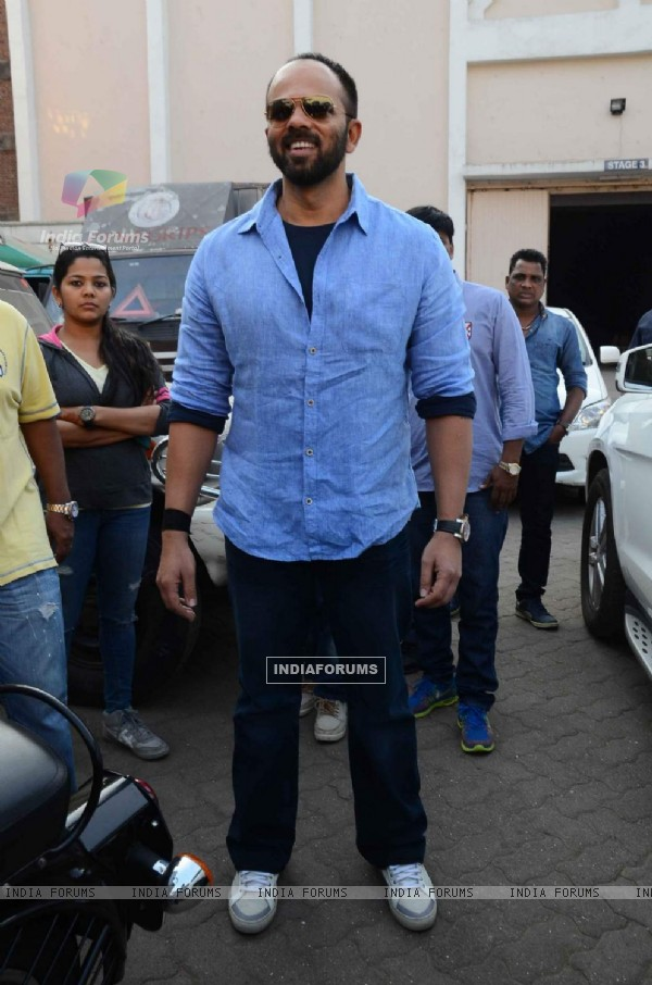 Rohit Shetty on Sets of BB9 Shoot