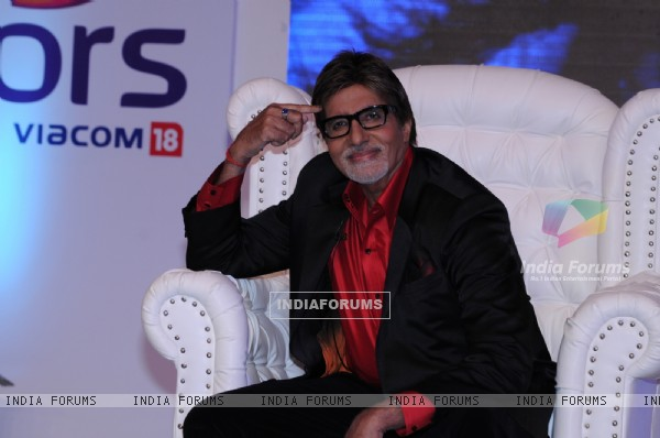 Amitabh Bachchan as a host