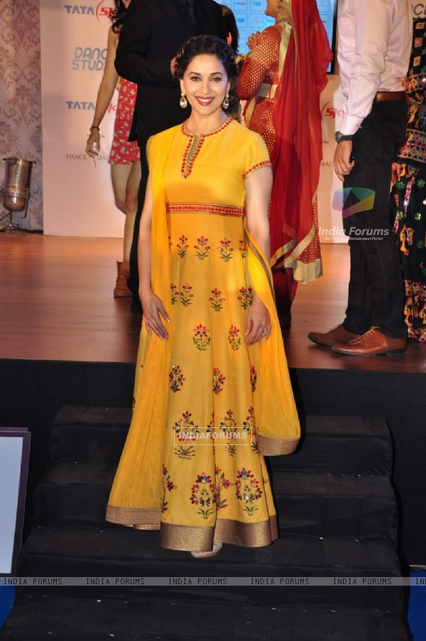 Madhuri Dixit Nene at Launch of 'Dance Studio' Channel on Tata Sky