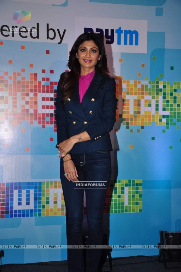 Shilpa Shetty at 'Sheroes' Summit 2015