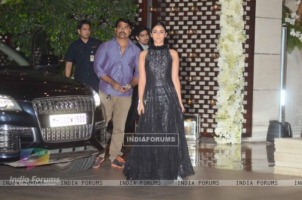 Alia Bhatt was at Mukesh and Nita Ambani's Bash