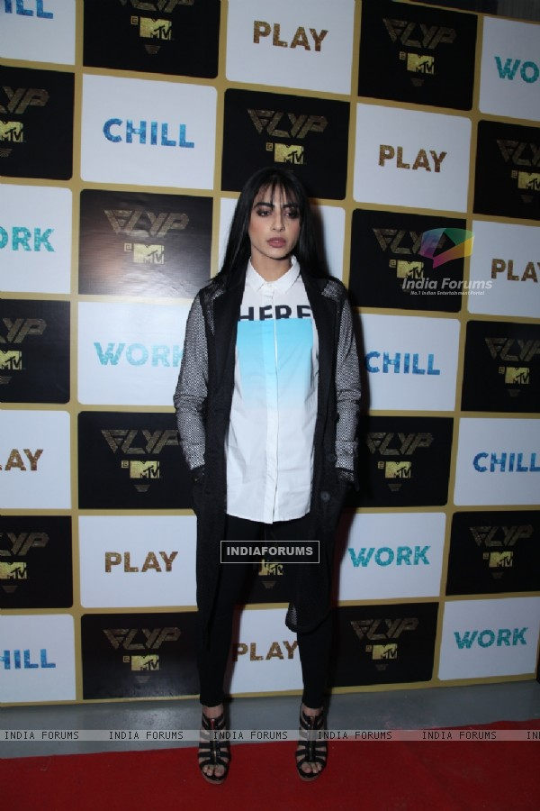 VJ Bani at MTV - FLYP Launch