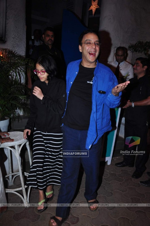 Vidhu Vinod Chopra Snapped outside Olive