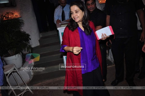Anupama Chopra Snapped outside Olive