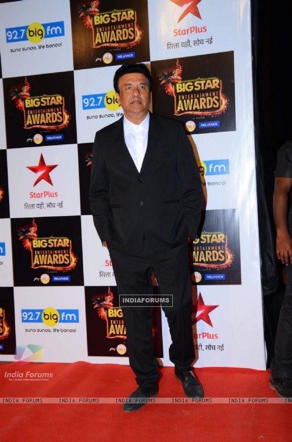 Anu Malik at Big Star Entertainment Awards