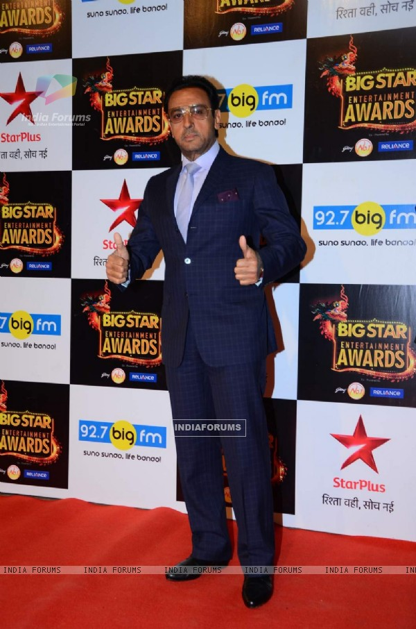 Gulshan Grover at Big Star Entertainment Awards