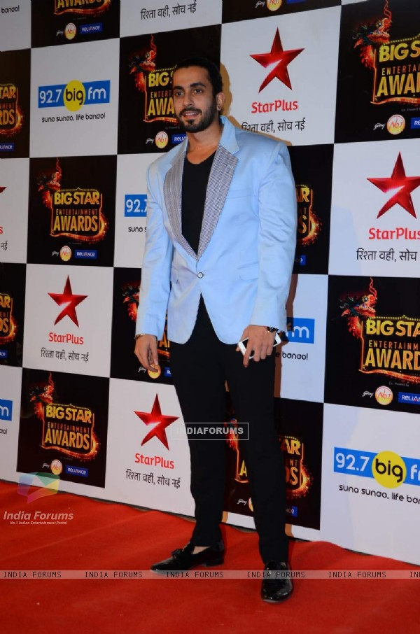 Sunny Singh at Big Star Entertainment Awards