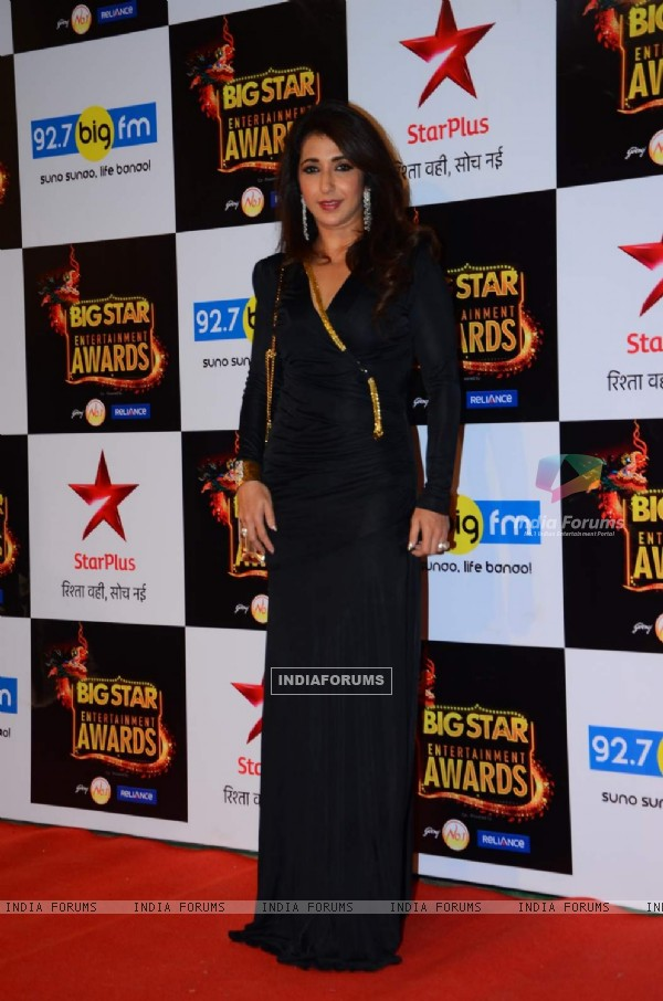 Krishika Lulla at Big Star Entertainment Awards