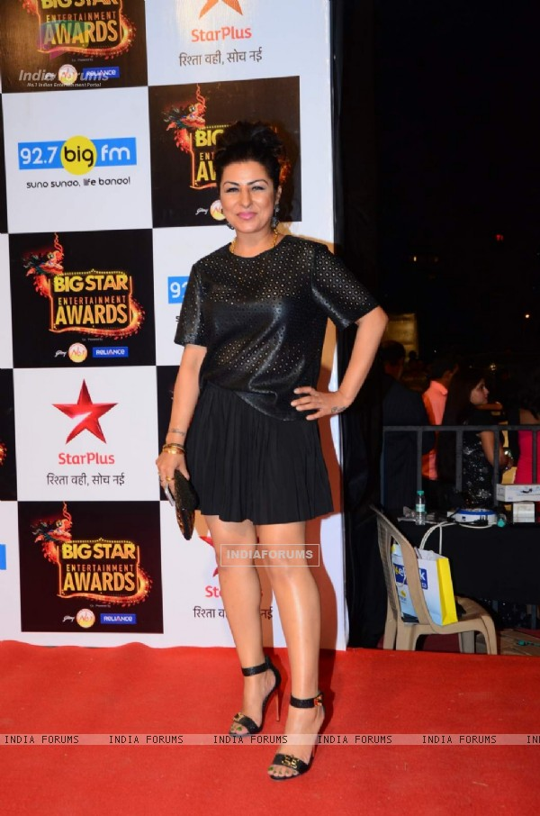 Hard Kaur at Big Star Entertainment Awards