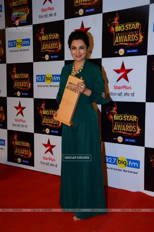 Tisca Chopra at Big Star Entertainment Awards