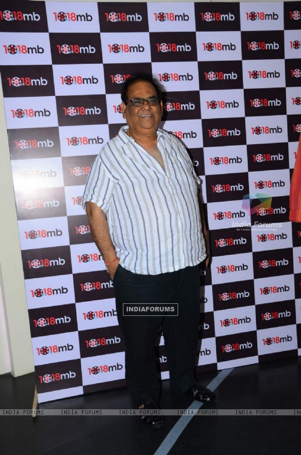 Satish Kaushik at Screening of Jaane Bhi Do Yaaro