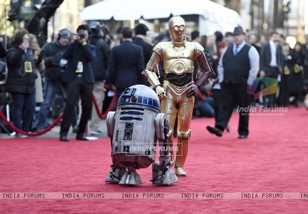 Premiere of 'Star Wars: The Force Awakens'