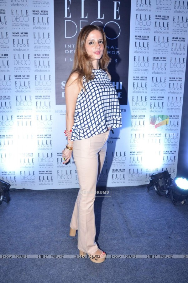Sussane Khan at Elle Decor Awards
