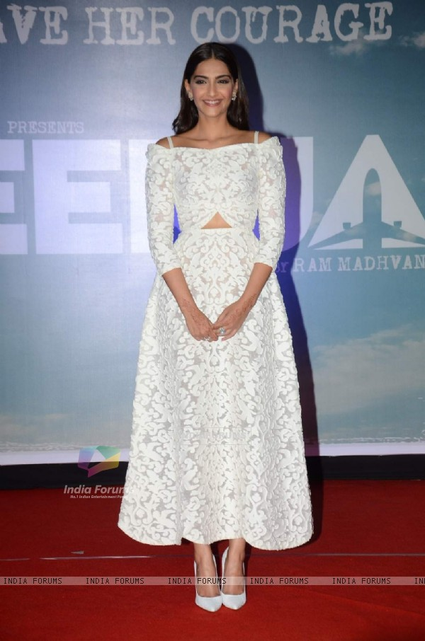 Sonam Kapoor at Trailer Launch of Neerja