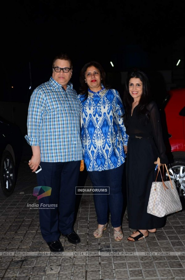 Ramesh Taurani at Special Screening of Dilwale