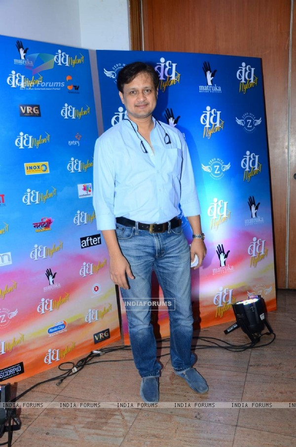 Sunil Barve at Promotions of Marathi Film 'Bandh Nylon Che'