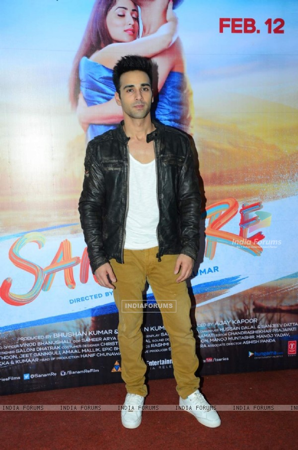 Pulkit Samrat at Song Launch of 'Sanam Re'