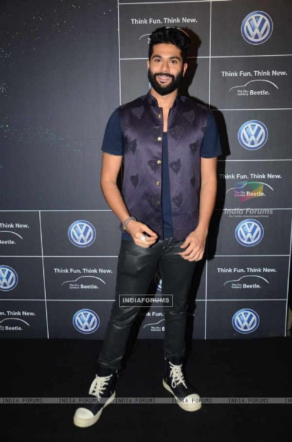 Kunal Rawal at Volkswagen Car Launch