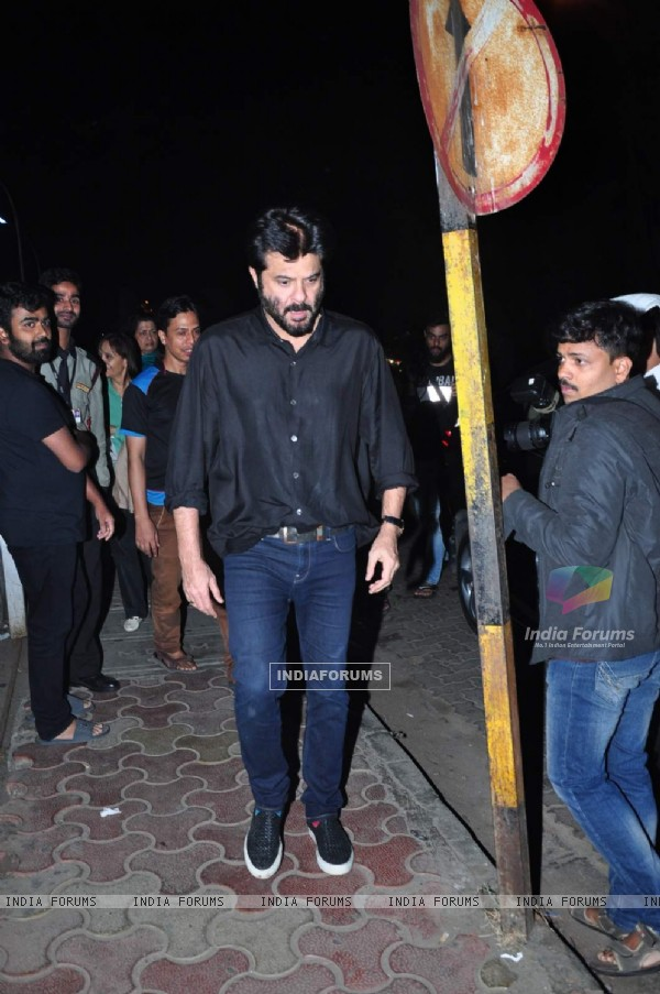 Anil Kapoor Snapped in the City