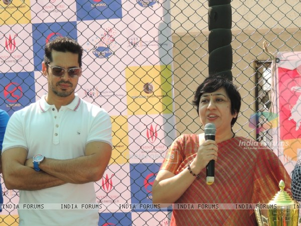 Dino Morea at The Versova Fest 2016