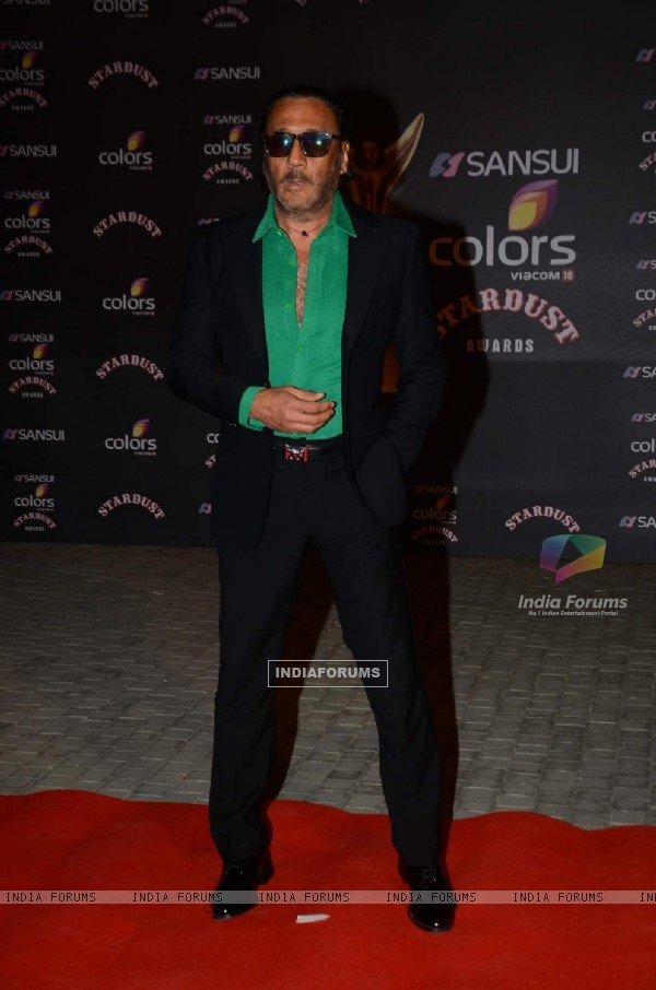 Jackie Shroff at Stardust Awards